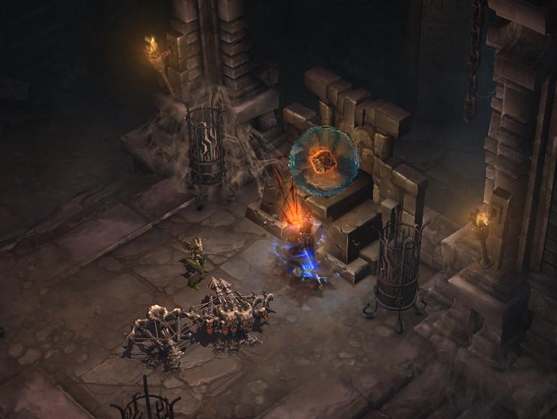 暗黑3 塞斯切隆废墟为什么没有找到魔盒?魔盒攻略