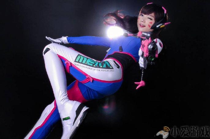 《守望先锋》韩国萌妹子COS发布 超高还原度的D.Va